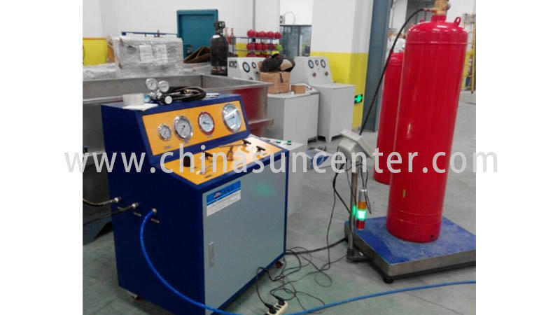 Suncenter cylinder automatic filling machine marketing for fire extinguisher-1
