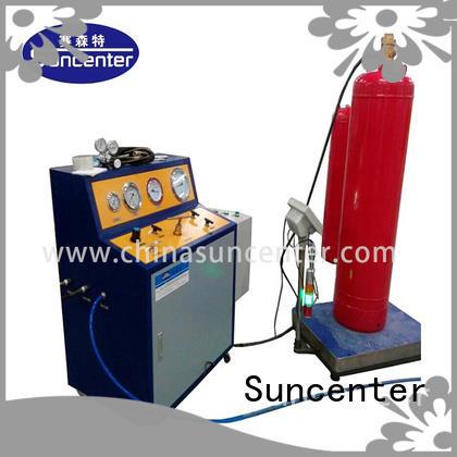 Suncenter Brand machine dls hosepipes co2 filling machine fire extinguisher manufacture