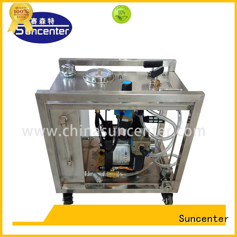 Suncenter long life hydro test pump overseas market for petrochemical