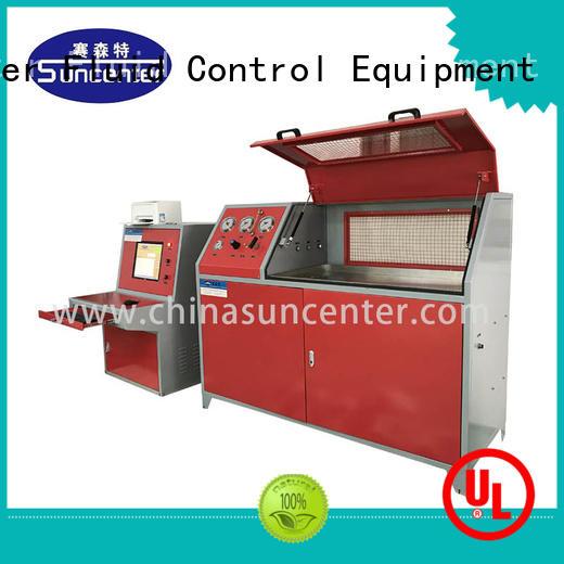 Suncenter air pressure test for flat pressure strength test