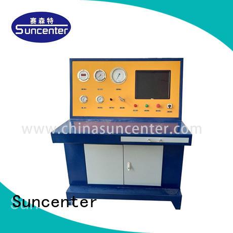 test hydrostatic OEM gas cylinder testing Suncenter