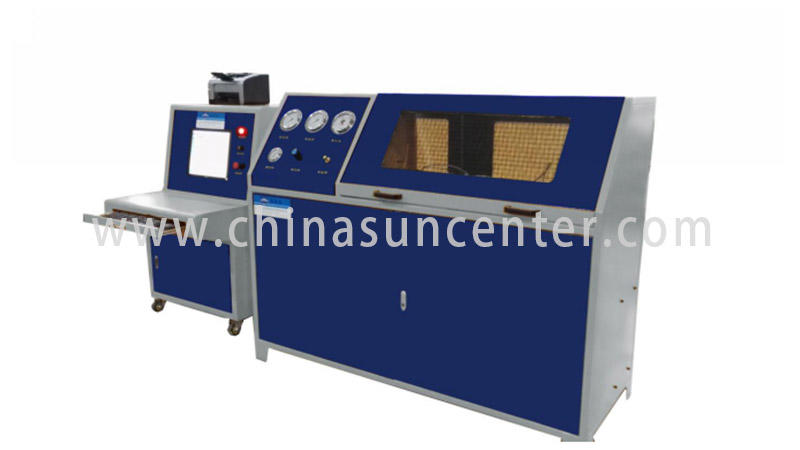 Hydraulic test machine with 10 bar-6000 bar pressure range-1