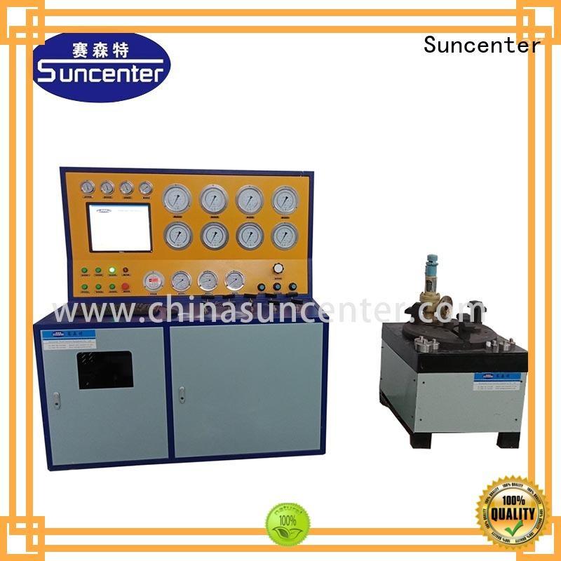 Suncenter energy saving gas pressure test