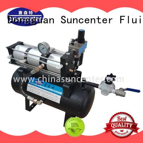 Suncenter tanks booster air compressor type for pressurization