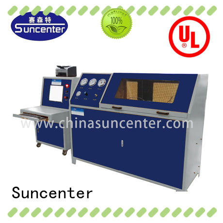 hydrostatic compression testing machine hose for flat pressure strength test Suncenter