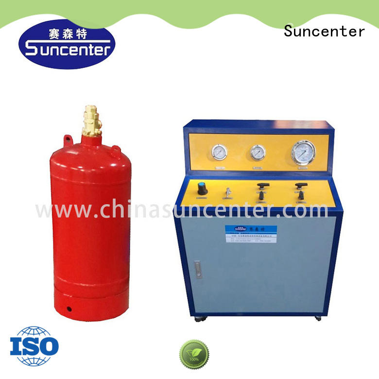 CO2 Fire Extinguisher cylinder filling machine