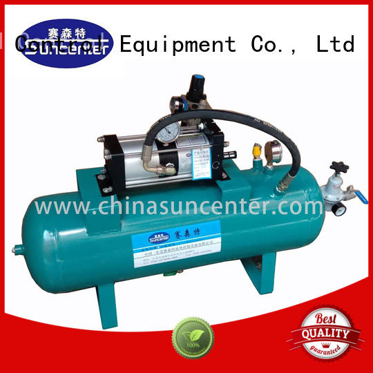 Suncenter light weight air compressor pump from china for natural gas boosts pressure