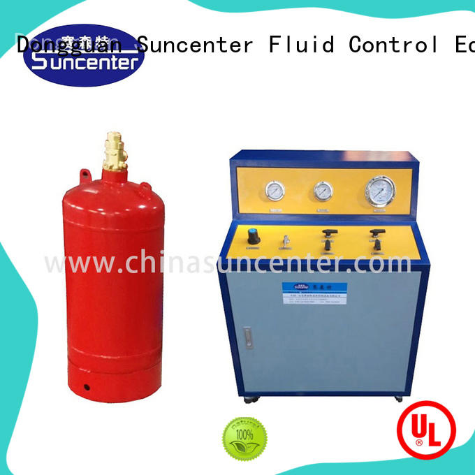 Suncenter co2 automatic filling machine for fire extinguisher