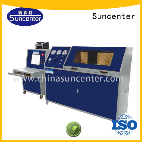 Suncenter pressure water pressure tester in China for flat pressure strength test